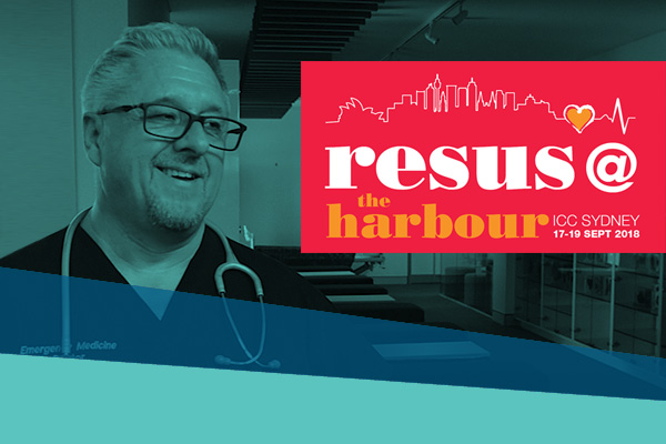 Professor Middleton and the Resus @ The Harbour Conference