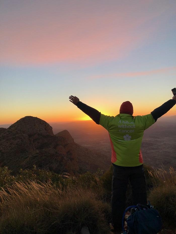 Sunrise on the Larapinta Trail
