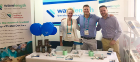 RMA19 team at event WavelengthMedicalRecruitment