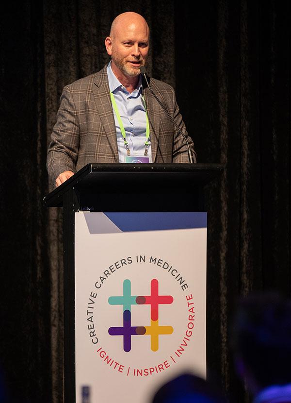 John presenting at CCIM 2019