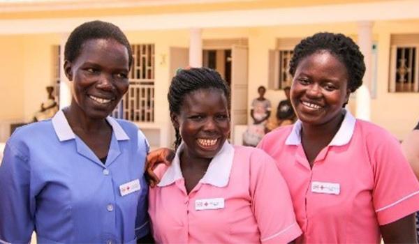 Love Mercy Nurses in Uganda
