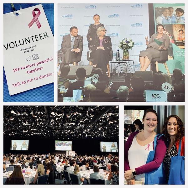 UNWomensDay Volunteers