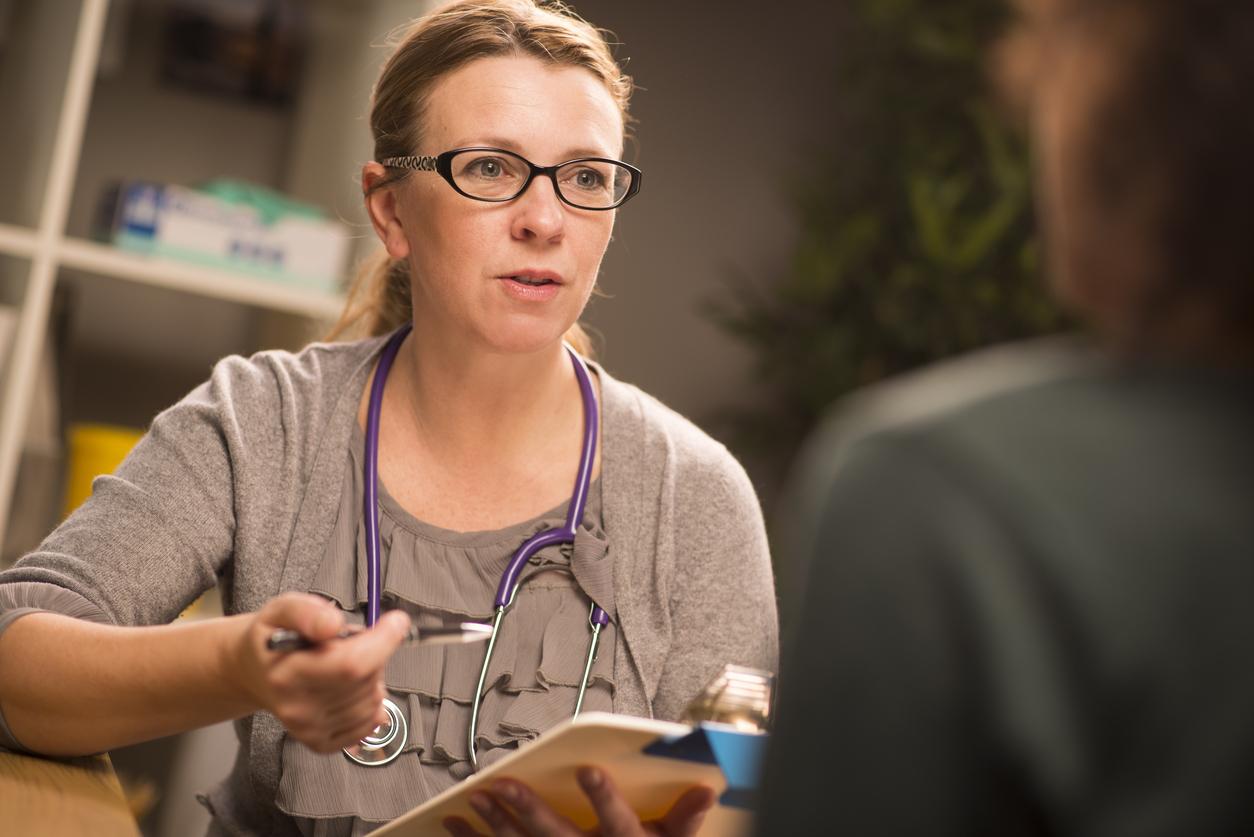 Female Doctor during Locum work